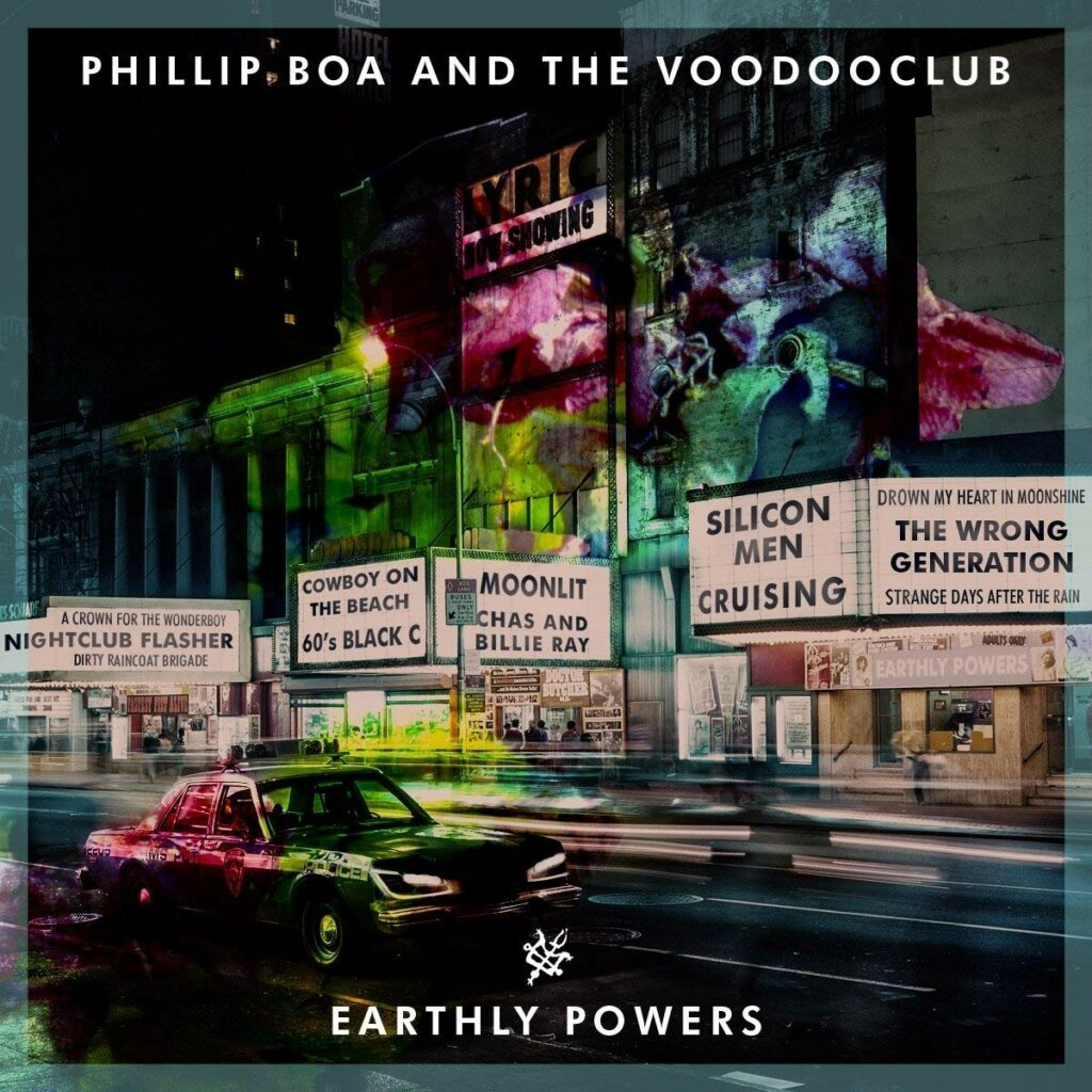 Phillip Boa and the Voodooclub - Earthly Powers Tour