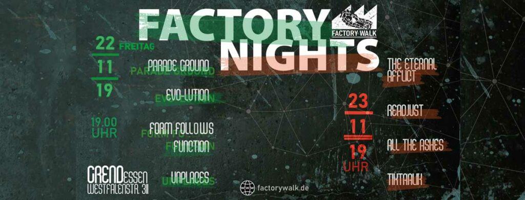 Factory Nights Festival feiert Premiere